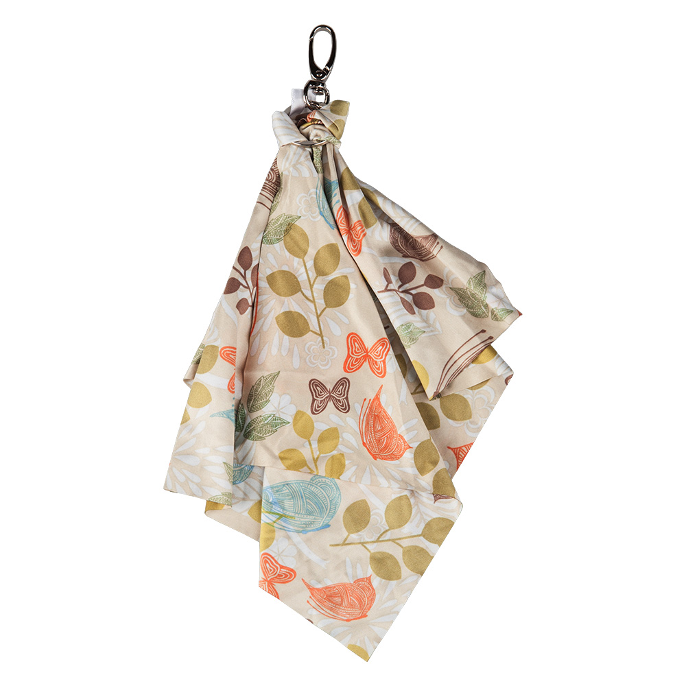 Optic Scarf, butterfly