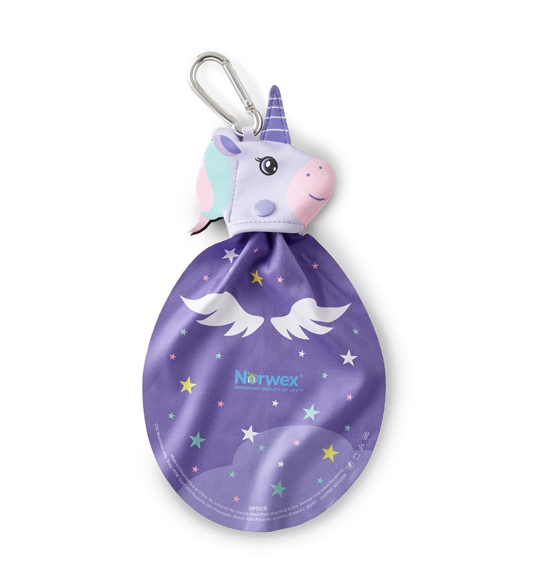 Kids Optic Scarf, unicorn