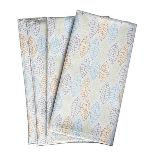 Norwex Napkins, leaf pattern