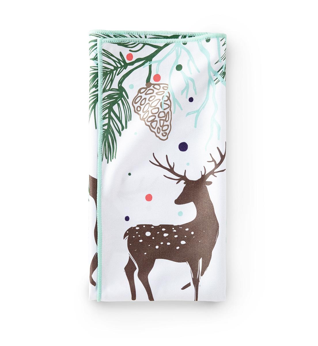Window Cloth, reindeer