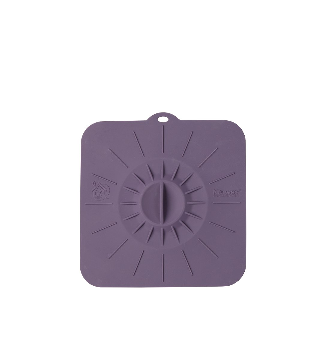 Silicone Square Bakeware Lid, eggplant